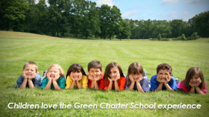 Children love the Green Charter School experience